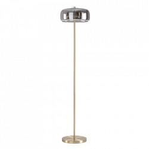 Lampadar auriu din sticla si metal 152 cm Reflexo Bizzotto