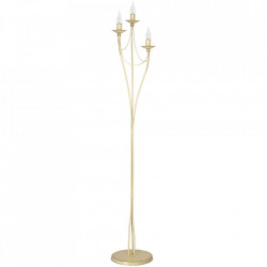 Lampadar bej din metal cu 3 becuri 164 cm Roza Aldex