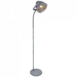 Lampadar gri din metal 159 cm Nova Steinhauer