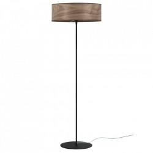 Lampadar maro nuc din lemn si otel 129 cm Tsuri Sotto Luce