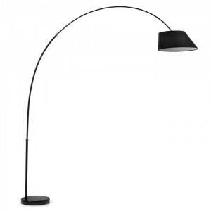 Lampadar negru ajustabil May Kave Home