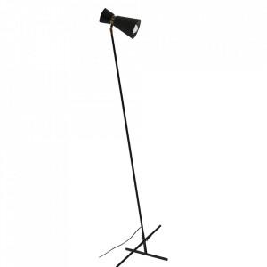 Lampadar negru/auriu din metal 162 cm Kedar Aldex