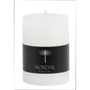 Lumanare alba 6 cm Round Nordal