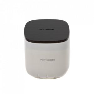 Lumanare parfumata cu suport alb din sticla 11 cm 7AM Serax