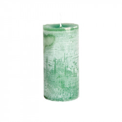 Lumanare verde smarald din ceara parafinica 15 cm Lars LifeStyle Home Collection