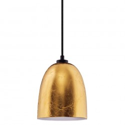 Lustra aurie din metal si sticla Awa Elementary Gold Sotto Luce