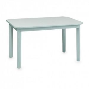 Masa albastra din MDF si lemn 47x79 cm Harlequin Cam Cam