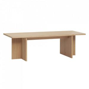 Masa maro din lemn pentru cafea 50x120 cm Oak Table Hubsch