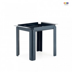 Masuta albastra din otel 33x48 cm Box Table Normann Copenhagen