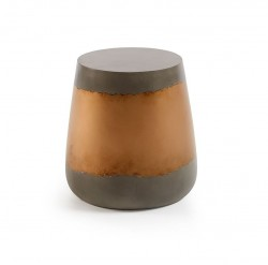Masuta aurie din beton 39 cm Goldman La Forma