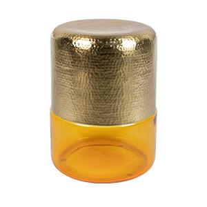 Masuta galbena/aurie din fier 35 cm Amber Dutchbone
