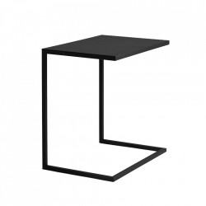 Masuta neagra din metal 40x60 cm Lupe Custom Form