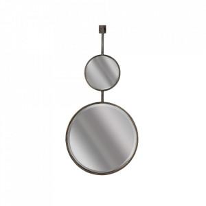 Oglinda din metal 40x82 cm Chain Be Pure Home