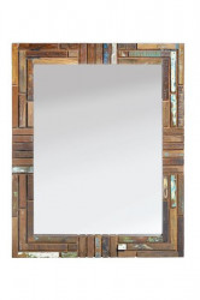 Oglinda dreptunghiulara din lemn si sticla 80x100 cm Nature Giner y Colomer