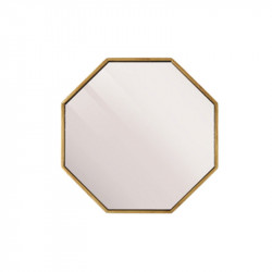 Oglinda hexagonala din MDF 40x40 cm Leva Lifestyle Home Collection
