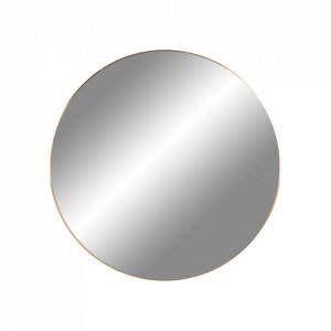 Oglinda rotunda aurie din otel 60 cm Jersey House Nordic