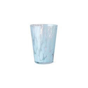 Pahar albastru deschis/transparent din sticla 270 ml Casca Ferm Living