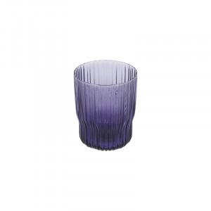 Pahar mov din sticla 7,5x9,5 cm Rori La Forma