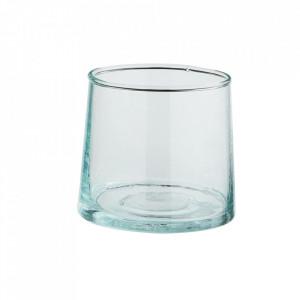 Pahar transparent din sticla reciclata 7x7 cm Camille Madam Stoltz