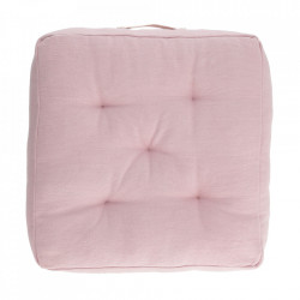Perna de podea roz din bumbac 60x60 cm Sarit Kave Home