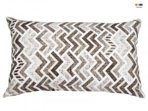 Perna decorativa drepunghiulara maro din poliester 30x50 cm Damara Santiago Pons