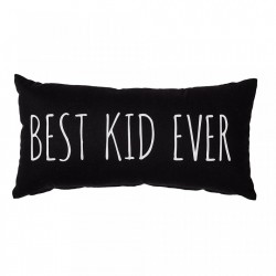 Perna decorativa neagra din bumbac 30x60 cm Best Kid Bloomingville