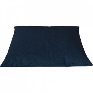 Perna decorativa patrata albastra din bumbac 60x60 cm Classic Sira Bolia