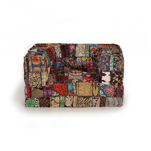 Perna modulara de podea patrata multicolora din textil 80x80 cm Aris Giner y Colomer