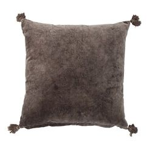 Perna patrata din bumbac maro 50x50 cm Brown Bloomingville