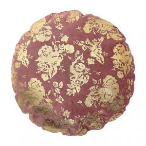 Perna roz/aurie rotunda din bumbac 45 cm Rose Bloomingville