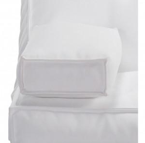 Perna suport brate alb din poliuretan 28x52 cm Arms La Forma