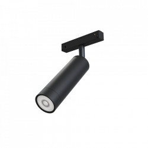 Plafoniera neagra din aluminiu cu LED Focus Magnetic Maytoni