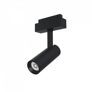 Plafoniera neagra din aluminiu cu LED Focus Track Maytoni