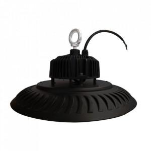 Plafoniera neagra din aluminiu Eka Neutral Milagro Lighting
