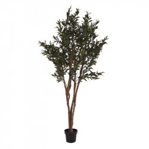 Planta artificiala cu ghiveci din poliester si plastic 200 cm Olive Vical Home