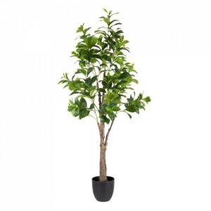 Planta artificiala cu ghiveci din PVC 145 cm Peperomia Ixia