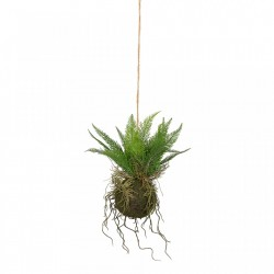 Planta artificiala suspendabila 30 cm Gilda Woood