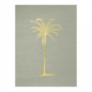 Poster verde palmier 40x30 cm Bloomingville