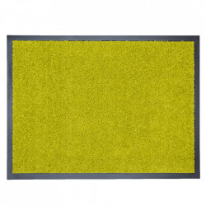 Pres dreptunghiular verde din poliamida pentru intrare 60x80 cm Continental Lako