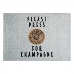 Pres pentru intrare 70x50 cm StateMat Please Press Mint Rugs