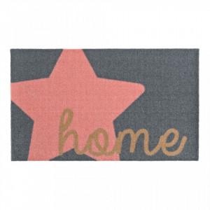 Pres pentru intrare gri si roz 70x50 cm Star Home Zala Living