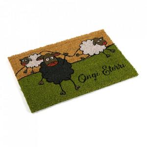 Pres pentru intrare multicolor din fibre de cocos 40x60 cm Sheep Versa Home