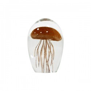 Prespapier din sticla Coral Jellyfish HK Living