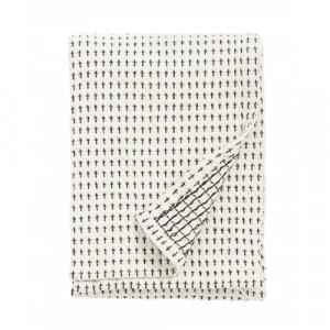 Prosop negru/alb din bumbac pentru bucatarie 50x70 cm Bryan Nordal