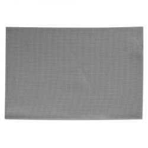Protectie masa dreptunghiulara gri din PVC 30x45 cm Bia Zeller