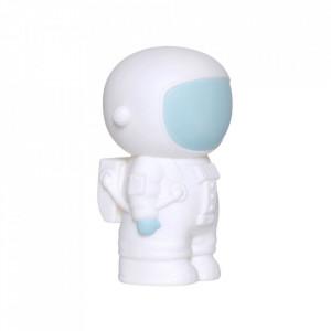 Pusculita alba/albastra din PVC 16 cm Astronaut A Little Lovely Company