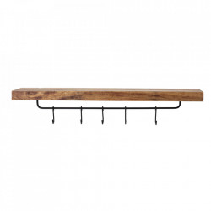 Raft maro din lemn de mango si fier 99,5 cm Elna Bloomingville