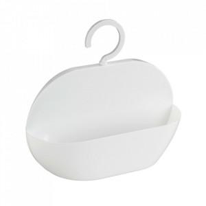 Raft pentru baie alb din plastic 26 cm Caddy Cocktail Wenko