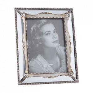 Rama foto argintie din polirasina 18x23 cm Malor Ixia