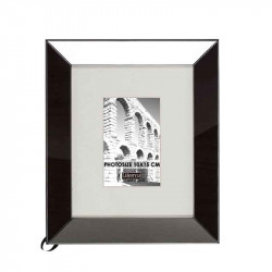 Rama foto neagra din MDF si sticla 27x31 cm Smoke S LifeStyle Home Collection